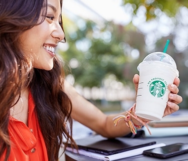 Starbucks - Attract customers with an iconic brand