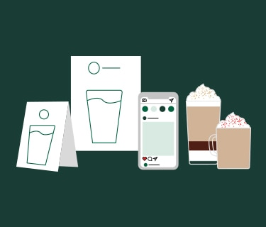 sell starbucks coffee - Bring the experience to life