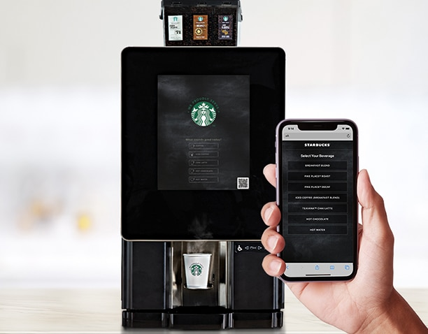 starbucks serenade - Fresh, self-serve solutions